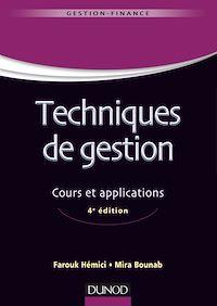 Techniques de gestion - 4e éd.