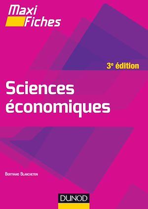 Téléchargez le livre :  Maxi fiches de Sciences économiques - 3e éd.