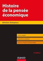 Télécharger le livre :  Histoire de la pensée économique - 3e éd.