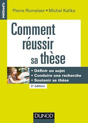 Téléchargez le livre :  Comment réussir sa thèse - 3e éd.
