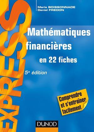 Téléchargez le livre :  Mathématiques financières - 5e éd