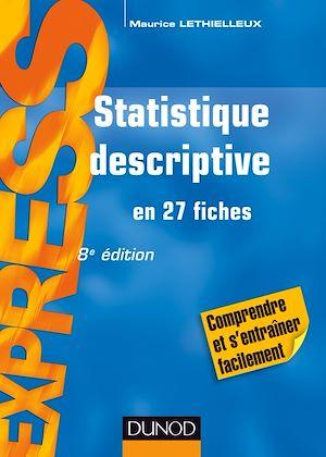 Téléchargez le livre :  Statistique descriptive - 8e éd.