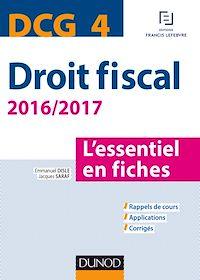 DCG 4 - Droit fiscal - 2016/2017- 8e éd.