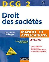 DCG 2 - Droit des sociétés 2016/2017 - 10e éd.