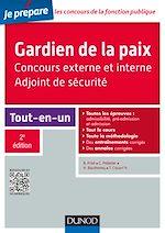 Télécharger le livre :  Gardien de la paix - Adjoint de sécurité - 2e éd.