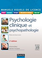Télécharger le livre :  Manuel visuel de psychologie clinique et psychopathologie - 3e éd.