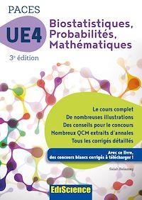 Télécharger le livre : Biostatistiques Probabilités Mathématiques-UE 4 PACES - 3e ed.