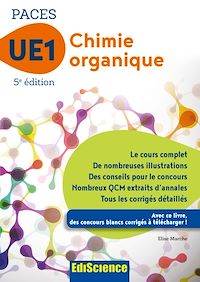 Chimie organique - UE1 PACES - 5e ed.