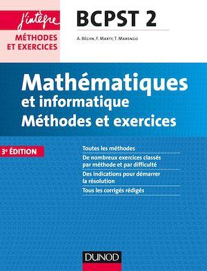 Téléchargez le livre :  Mathématiques et informatique Méthodes et Exercices BCPST 2e année - 3e éd.
