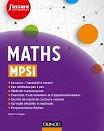 Télécharger le livre :  Maths MPSI