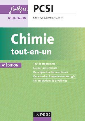 Téléchargez le livre :  Chimie tout-en-un PCSI - 4e éd.