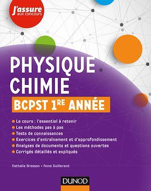 Téléchargez le livre :  Physique-Chimie BCPST 1re année