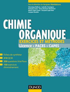 Téléchargez le livre :  Chimie organique - Exercices et méthodes