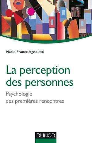 Téléchargez le livre :  La perception des personnes