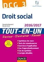 Télécharger le livre :  DCG 3 - Droit social 2016/2017 - 9e éd