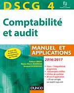 Télécharger le livre :  DSCG 4 - Comptabilité et audit - 2016/2017 - 7e éd