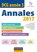Télécharger le livre :  DCG Année 3 - Annales 2017