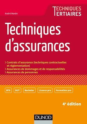 Téléchargez le livre :  Techniques d'assurances - 4e éd.