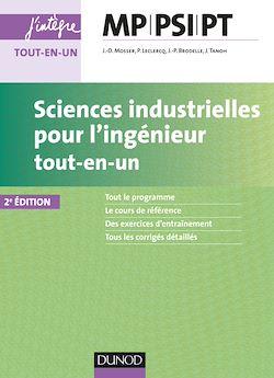 Téléchargez le livre numérique:  Sciences industrielles pour l'ingénieur MP, PSI, PT - 2e éd.