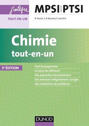 Téléchargez le livre :  Chimie tout-en-un MPSI-PTSI - 3e éd.