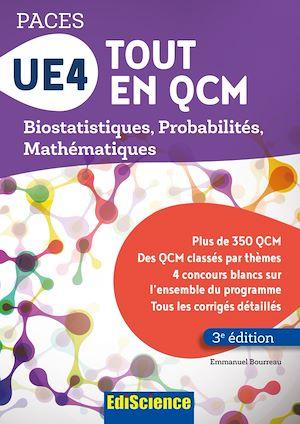 Téléchargez le livre :  UE4 Tout en QCM - PACES - 3e éd.