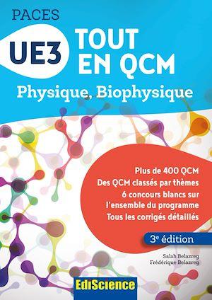 Téléchargez le livre :  UE3 Tout en QCM PACES - 3e éd.