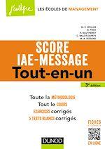 Télécharger le livre :  Score IAE-Message - 3e éd.