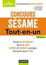 Télécharger le livre :  Concours Sésame - 4e éd.