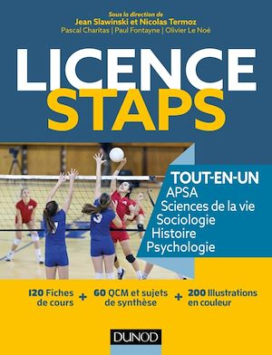 Téléchargez le livre :  Licence STAPS Tout-en-Un