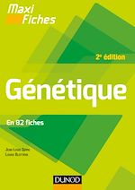 Télécharger le livre :  Maxi fiches - Génétique - 2e éd.