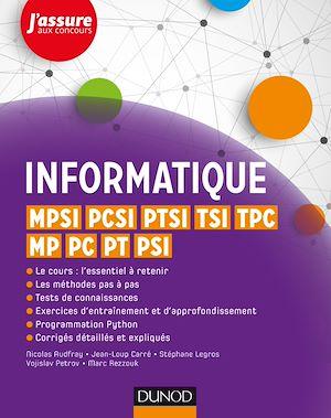 Téléchargez le livre :  Informatique - MPSI, PCSI, PTSI, TSI, TPC, MP, PC, PT, PSI