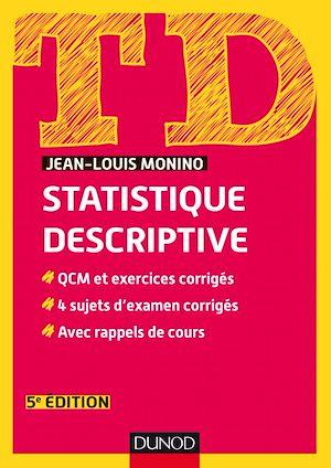 Téléchargez le livre :  TD de statistique descriptive - 5e éd.