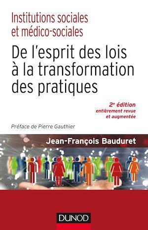 Téléchargez le livre :  Institutions sociales et médico-sociales-2e éd.