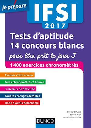 Téléchargez le livre :  IFSI 2017 Tests d'aptitude : 14 concours blancs pour être prêt le jour J
