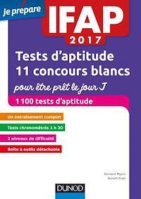 IFAP 2017 Tests d'aptitude : 11 concours blancs pour être prêt le jour J