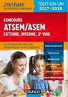 Téléchargez le livre numérique:  Concours ATSEM/ASEM - 2017-2018