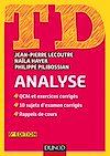 Téléchargez le livre numérique:  TD Analyse - 6e éd.