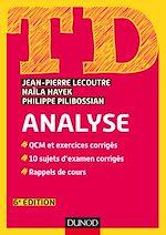 Télécharger cet ebook : TD Analyse - 6e éd.