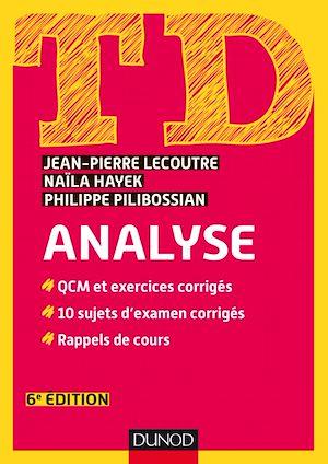 Téléchargez le livre :  TD Analyse - 6e éd.