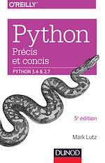 Télécharger le livre :  Python précis et concis