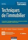 Téléchargez le livre numérique:  Techniques de l'immobilier - 4e éd.
