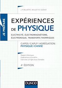 Expériences de physique -Électricité, électromagnétisme, électronique