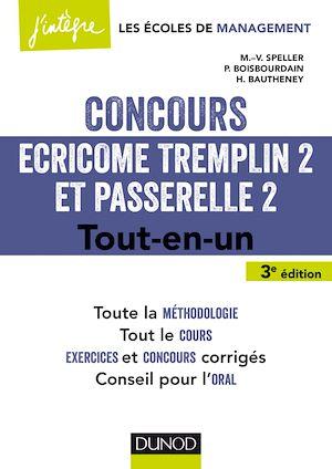 Téléchargez le livre :  Concours Écricome Tremplin 2 et Passerelle 2 - 3e éd.