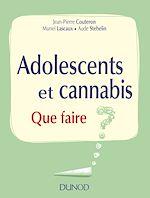 Télécharger le livre :  Adolescents et cannabis