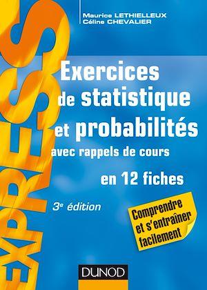 Téléchargez le livre :  Exercices de statistique et probabilités - 3e éd.
