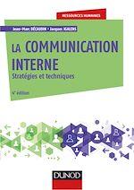 Télécharger le livre :  La communication interne - 4e éd.
