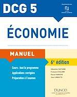 Télécharger le livre :  DCG 5 - Économie - 6e éd. - Manuel