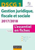 Télécharger cet ebook : DSCG 1 - Gestion juridique, fiscale et sociale 2017/2018- 7e éd.