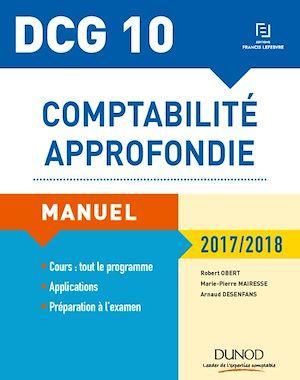 Téléchargez le livre :  DCG 10 - Comptabilité approfondie 2017/2018 - 8e éd.