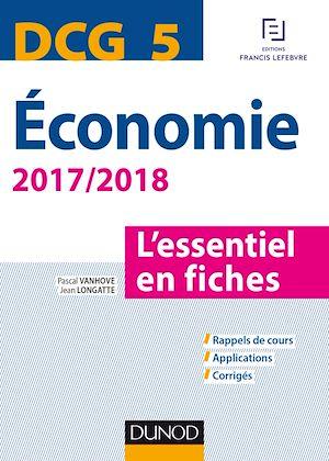 Téléchargez le livre :  DCG 5 - Economie 2017/2018